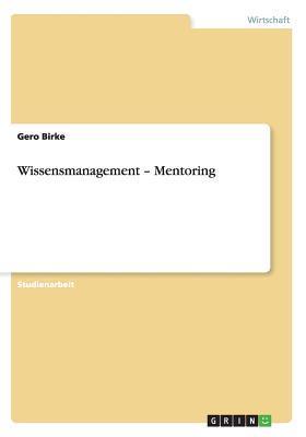 Wissensmanagement - Mentoring
