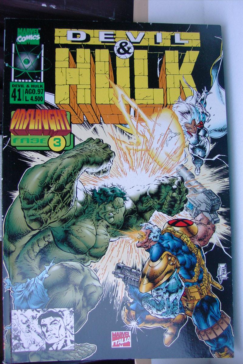 Devil & Hulk n. 41