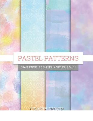Pastel Patterns Craft Paper