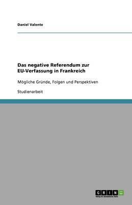 Das negative Referendum zur EU-Verfassung in Frankreich