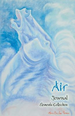 AIR (Elements Collection) - Horse Art Collection Notebook/Journal - lined pages