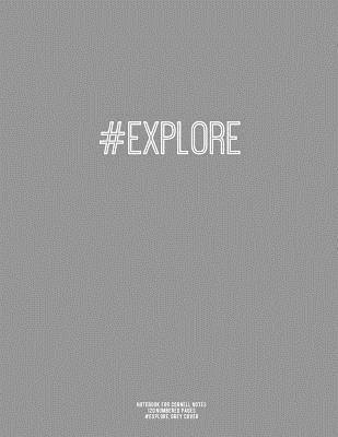 Notebook for Cornell Notes, #explore, Grey Cover
