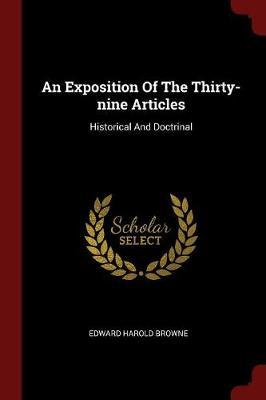 An Exposition of the Thirty-Nine Articles