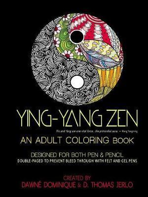 Yin-Yang Zen, Adult Coloring Book