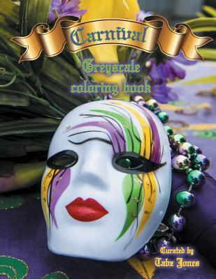 Carnival Greyscale Coloring Book