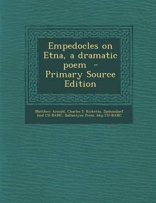 Empedocles on Etna, ...