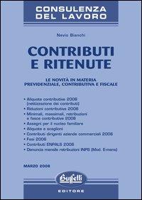 Contributi e ritenute