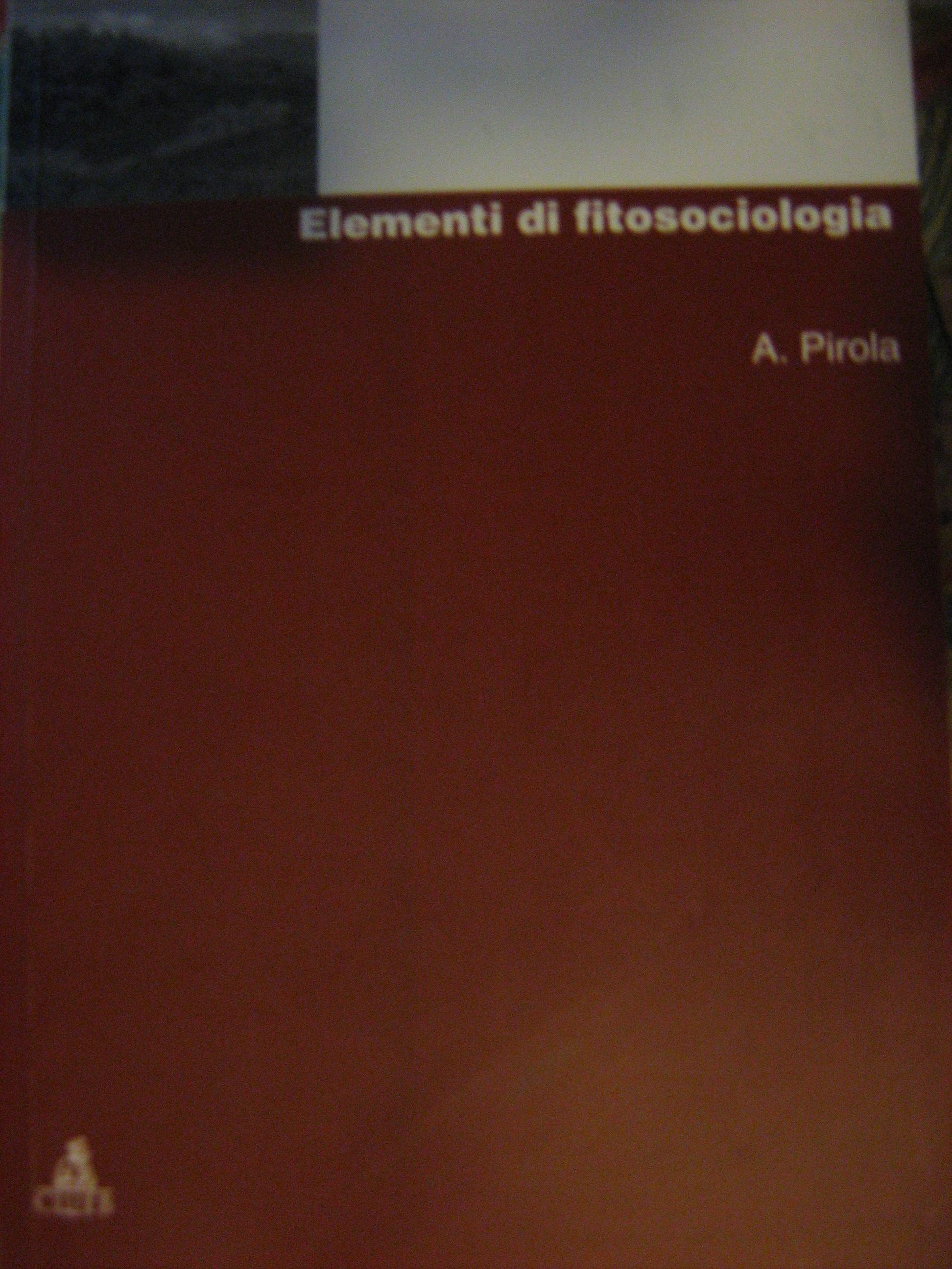 Elementi di fitosociologia