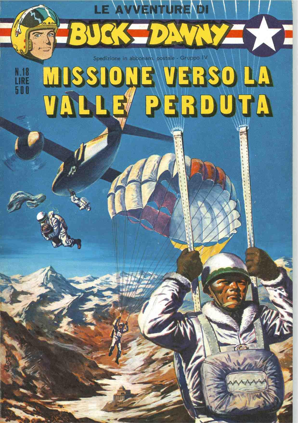Le Avventure di Buck Danny: Missione verso la valle perduta