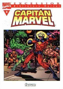 Biblioteca Marvel: Capitán Marvel #4