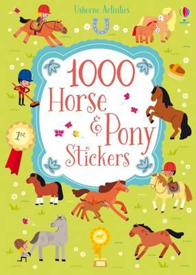 1000 Horse and Pony Stickers (1000 Stickers)
