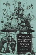 Religion, Toleration, and British Writing, 1790-1830