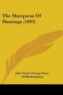 The Marquess of Hastings (1893)