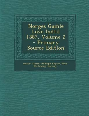 Norges Gamle Love In...