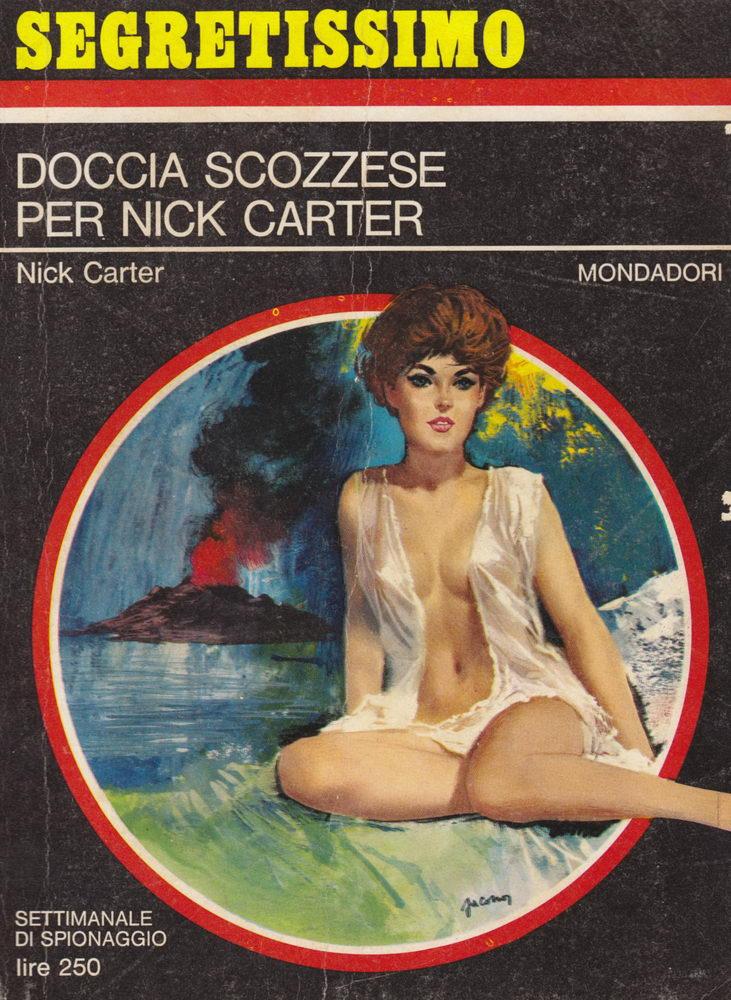 Doccia scozzese per Nick Carter