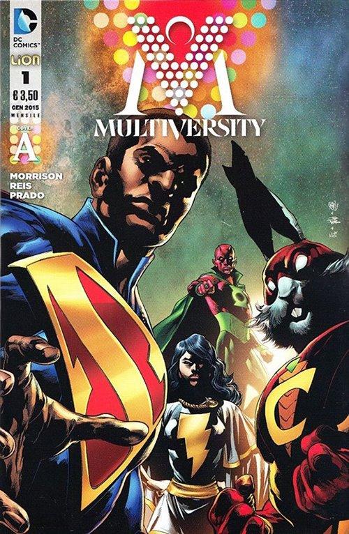 Multiversity n. 1 - Cover A