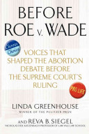Before Roe V. Wade