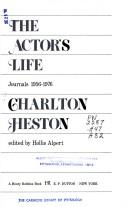 The Actor's Life Journals, 1956-1976