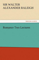 Romance Two Lectures