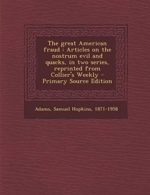 The Great American Fraud