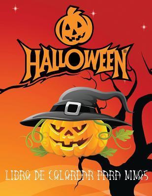 Halloween Libro de colorear para ninos