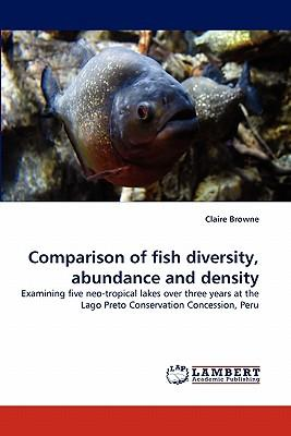 Comparison of fish diversity, abundance and density