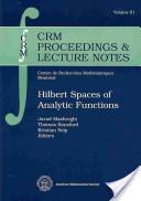 Hilbert spaces of analytic functions