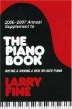 2006-2007 Annual Supplement to The Piano Book