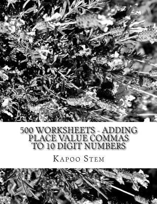 500 Worksheets - Add...