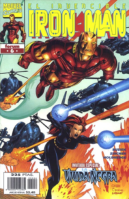 Iron Man Vol. 4 #6