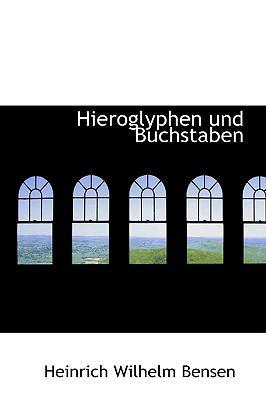 Hieroglyphen Und Buc...