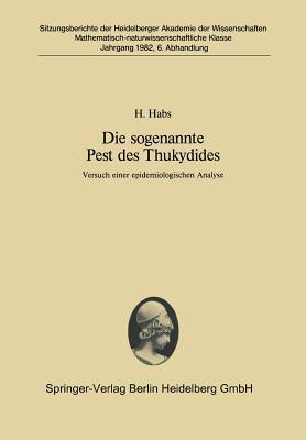 Die Sogenannte Pest Des Thukydides
