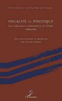 Fiscalite et Politique les Redevances Coutumieres
