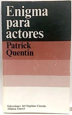 Enigmas para actores