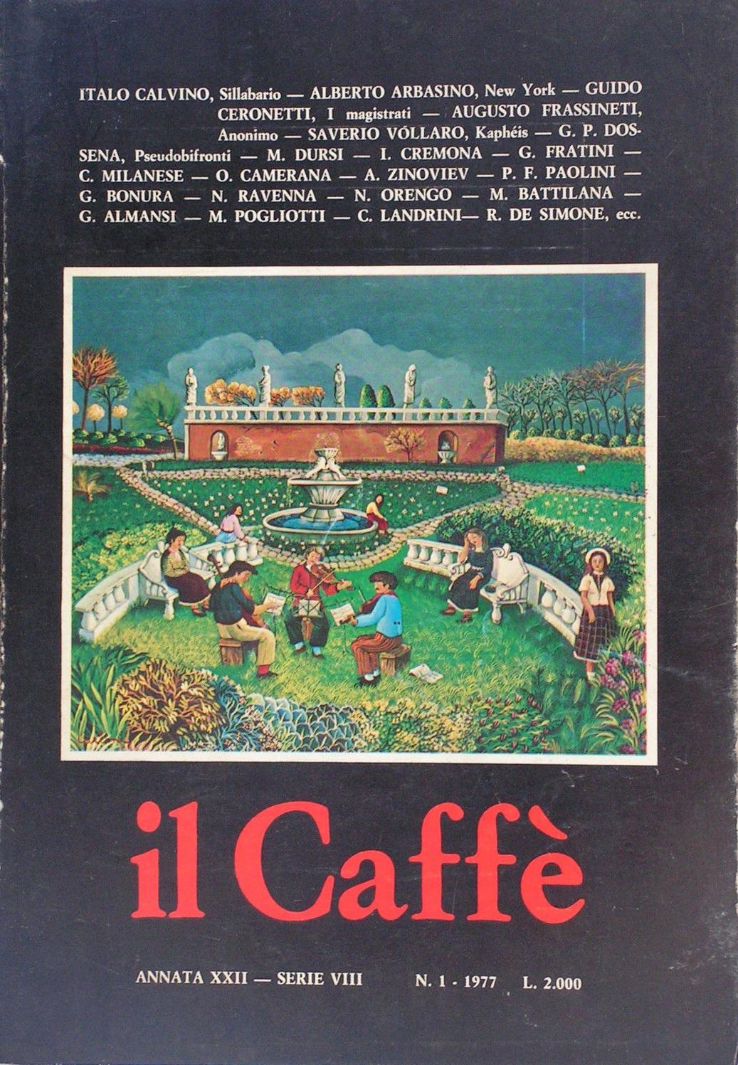 il Caffè n. 1 (1977)
