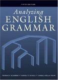 Analyzing English Grammar