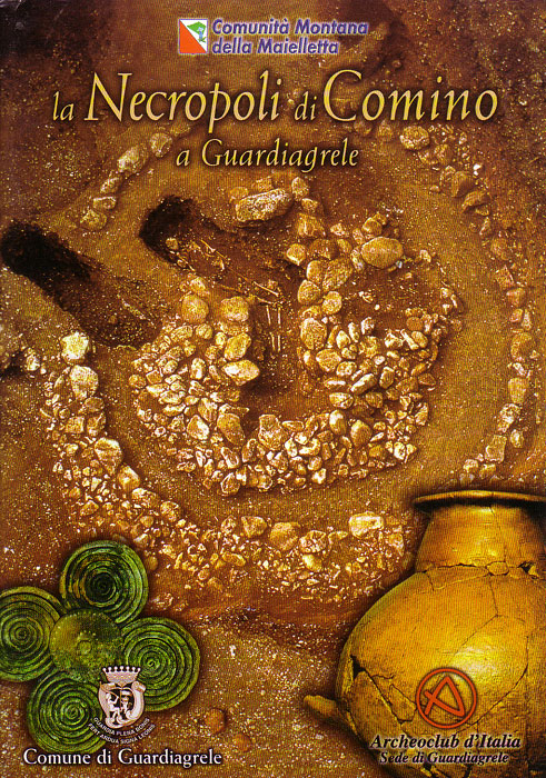 La necropoli di comino a Guardiagrele - Le tombe e i corredi, catalogo del museo