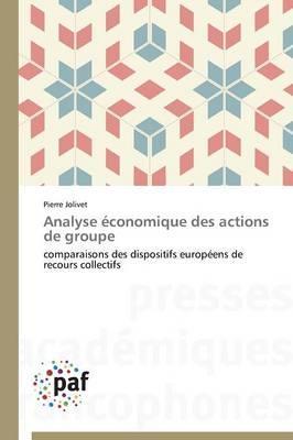Analyse Economique des Actions de Groupe