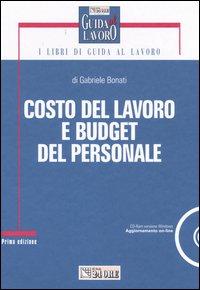 Costo del lavoro e budget del personale