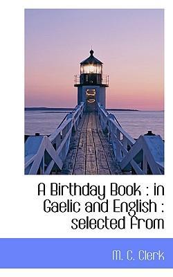 A Birthday Book