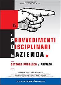 I provvedimenti disciplinari in azienda