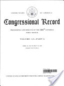 Congressional Record, V. 145, Pt. 6, April 28, 1999 to May 10 1999