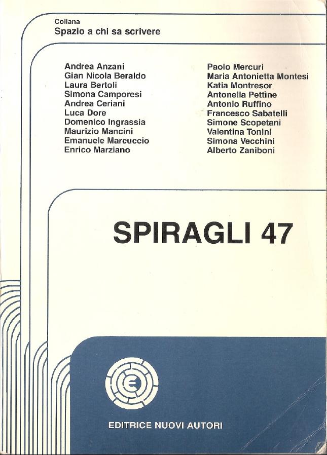 Spiragli - Volume 47