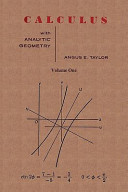 Calculus with Analytic Geometry by Angus E. Taylor
