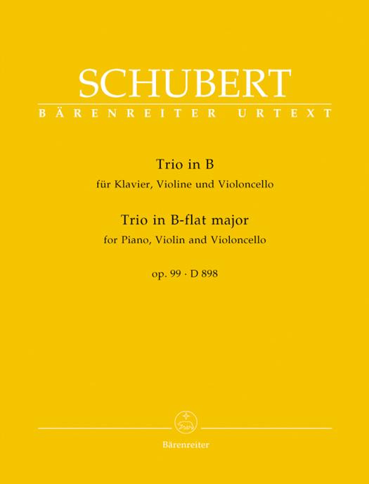 Trio in B für Klavier, Violine und Violoncello