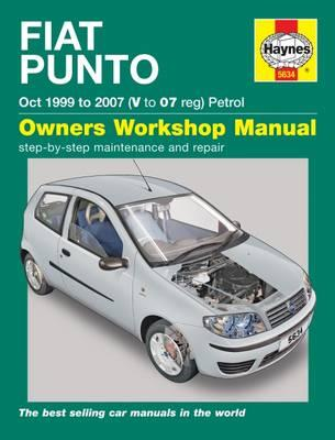 Fiat Punto petrol (Oct 99 - 07) Haynes Repair Manual