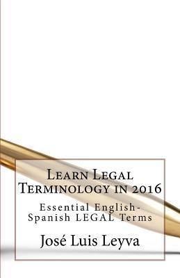Learn Legal Terminol...
