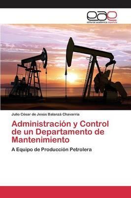 Administración y Control de un Departamento de Mantenimiento
