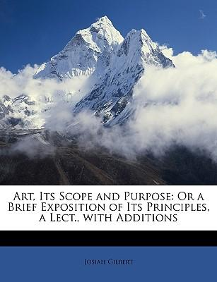 Art, Its Scope and P...