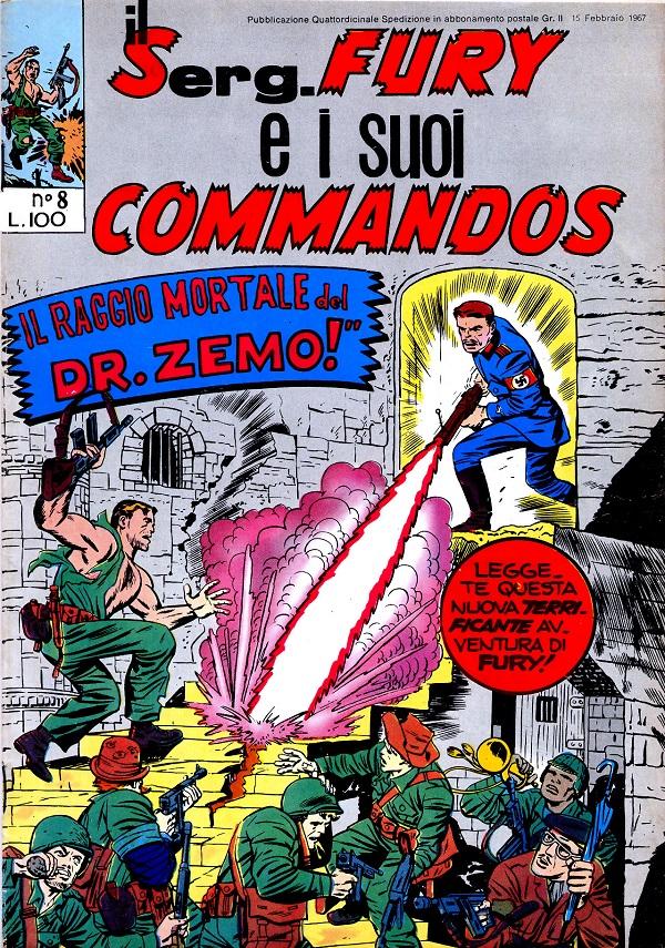 Il serg. Fury e i suoi commandos n. 8